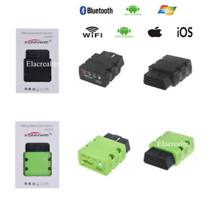 Kw902 Wifi Bluetooth Odb2 Diagnostic Code Scanner Reader For Iphone Ios Android