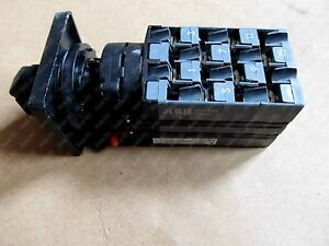 1pc Used On7pbs14845 Abb Cam Switch Changeover Switch
