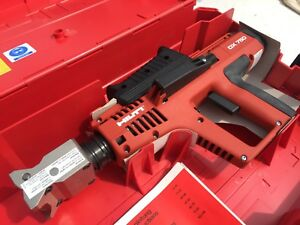 new Hilti Powder Actuated Nail Gun Stamping Tool With Marking Head Dx750