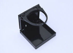 Dpi Marine Adjustable Fold Up Drink Holder Black Made In Usa
