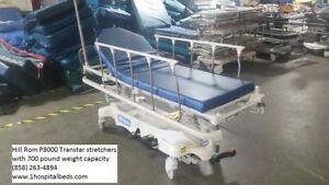 Hill Rom P8005 Durastar Stretcher For Sale 700 Lb Patient Weight Capacity