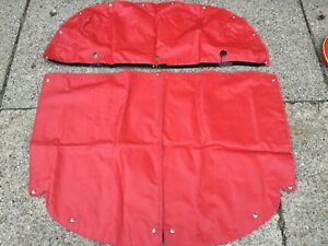 Porsche 356 Roadster Cover Red Complete