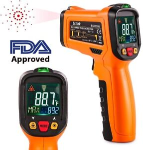 Digital Laser Ir Infrared Thermometer Temperature Gun For Kitchen Cooking Bbq