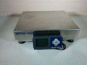 Mettler Toledo Usb Shipping Scale 150 Lb X 0 05 Lb Stainless Steel Bca 222 60u