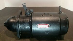 1955 1956 Chevy Starter 1107626 6cyl Delco Remy Works Great