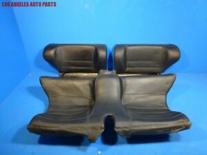 Porsche 944s2 968 Rear Interior Seat Set Backrests Seat Bottom Oem Black