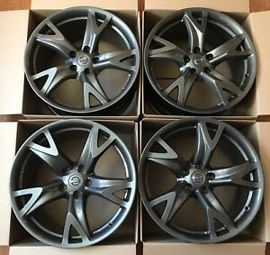 19 Nissan Rays Forged Wheels Oem 370z Factory Rims