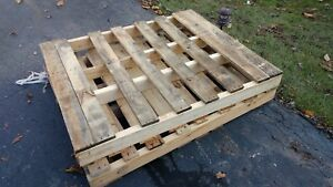 Used Wood Pallets 44 X 49 Local Pick Up Only