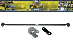 1965 72 Chevy C10 Gmc Truck Black Double Adjustable Deluxe Trac Bar
