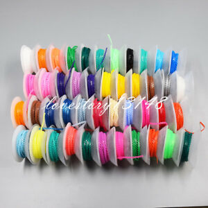 50x Dental Orthodontic Elastic Ultra Power Chain 44 Colorful Closed Continuous