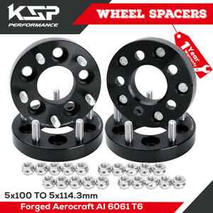 5x100 To 5x114 3 Wheel Adapters For Toyota Dodge 12x1 5mm For Chevy Cavalier Mat