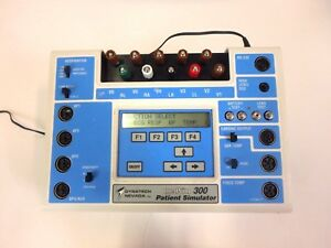 Dynatech Nevada Medsim 300 Patient Ecg Simulator W Power Supply