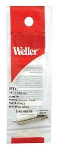 Weller Mt1 Cone Shaped Replacement Tip 1 8 Dia In For Soldering Iron