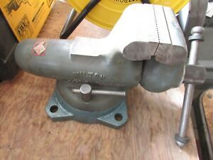 Nos Original No 400 Wilton Swivel Base Bullet Bench Vise 4 Inch Jaws Usa Unused