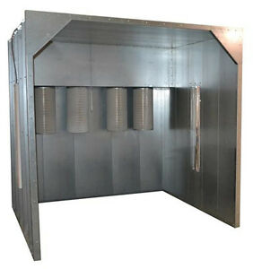 8x8x8 Kool Koat Powder Coat Coating Paint Spray Booth Industrial Made In Usa