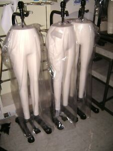 Urban Industrial Legs Superior Model 6 Form Nyc Hanging Legs Only Mannequin