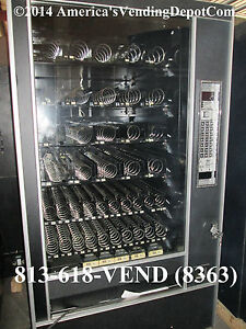 Ap 7600 45 Selection Snack Machine W Gum mint Local Delivery 30 Day Warranty