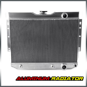 New Aluminum Radiator For Chevy Impala 1959 1963 Chevy Biscayne 1960 1965