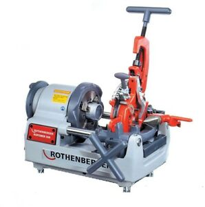 Pipe Threader Cutter Portable Compact Threading Machine Automatic Die Head New
