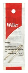 Weller Lead free Soldering Iron Tip Copper 2 Pc