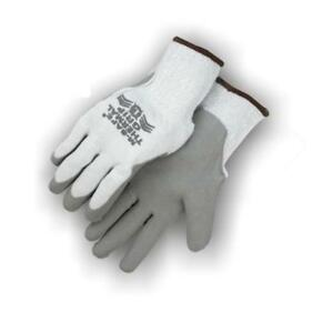 12 Pair Majestic Winter Beige Gloves With Rubber Palm Medium 3388a 9