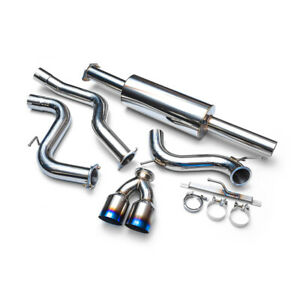 Agency Power Catback Exhaust Dual Ti Tips For 13 16 Ford Focus St