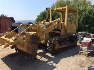 1977 Catapillar 955l Crawler Loader W 4 in 1 Bucket Backhoe Attachment Option