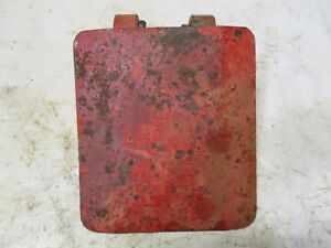 Farmall Ih Super A Tractor Flat Belt Pulley Cover