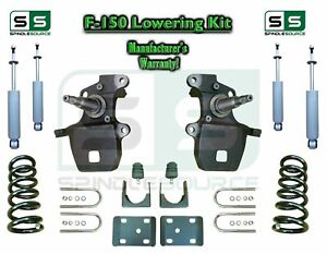 1997 2003 Ford F 150 F150 V8 2wd 4 6 Drop Lowering Kit Coils Axle Shocks