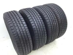 Set Of 4 265 70r17 Goodyear Wrangler Sra 113r Blk New Tire s Qty 4