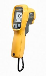 New Fluke 62 Max Plus Ir Thermometer Non Contact 20 To 1202 Degree F Range
