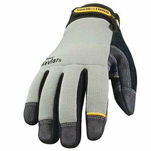 New Youngstown Glove 05 3080 70 L General Utility Lined With Kevlar Large Gray