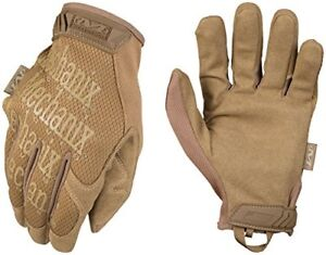 New Mechanix Wear Original Coyote Tactical Gloves Large Brown Free Shipping