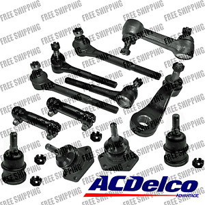 New Steering Kit Idler Pitman Arm Tie Rod Ball Joint For Rwd Chevrolet Gmc