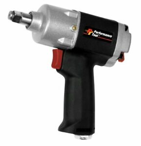 Wilmar M624 Performance Tool 1 2 Drive Composite Air Driven Impact Wrench