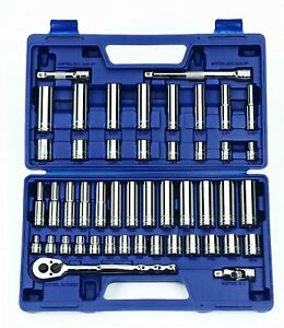 Williams 50666 3 8 Inch Drive Socket And Drive Tool Set 47 Piece