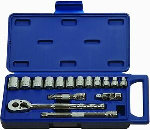 Williams 50665 3 8 Inch Drive Socket And Drive Tool Set Mm 16 Piece