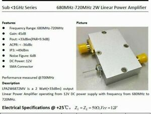 50w 20 500mhz 47dbm Rf Broadband High Power Directional Coupler Dual Port