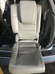 11 12 13 Honda Odyssey 3rd Row Back Right Seat Leather Gray