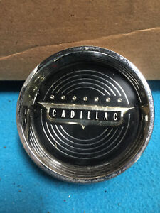 1950 S 1960 S Cadillac Steering Wheel Horn Button Used