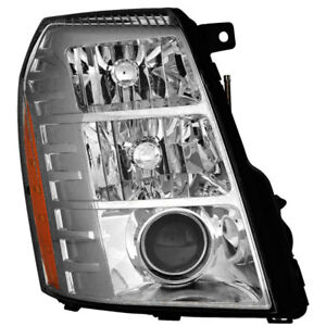 Hid Headlight Assembly W bulb Right Passenger Side For 10 14 Cadillac Escalade