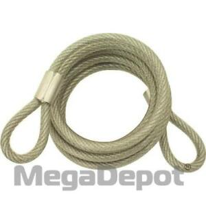Abus 00086 6 Standard Steel Cable 1 4 Diameter