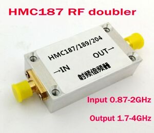 Frequency Multiplier Input 0 87 2ghz Output 1 7 4ghz Frequency Doubler Case