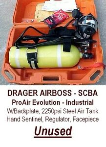 Drager Air Boss Proair Evolution Industrial Scba