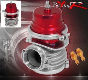 External 50mm V band Clamp Red Turbo Charger Wastegate Internal Psi Spring