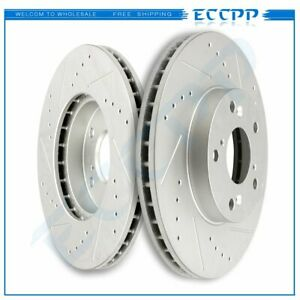 Front Brake Rotors For 1998 1999 2000 2001 2002 2012 Honda Accord Coupe Sedan