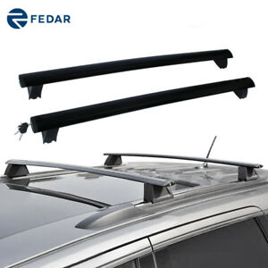 Roof Rack Rail Cross Bar Cargo Luggage Carrier For 2011 2019 Jeep Grand Cherokee