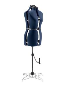 Adjustable Full Figured Mannequin Sewing Form With Small And Medium Feature New