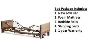 New Invacare Full Electric Hospital Bed Package With Mattress And Shipping