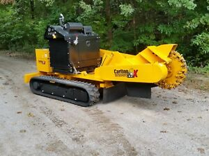 2018 Carlton 8018trx Stump Grinder demonstrator